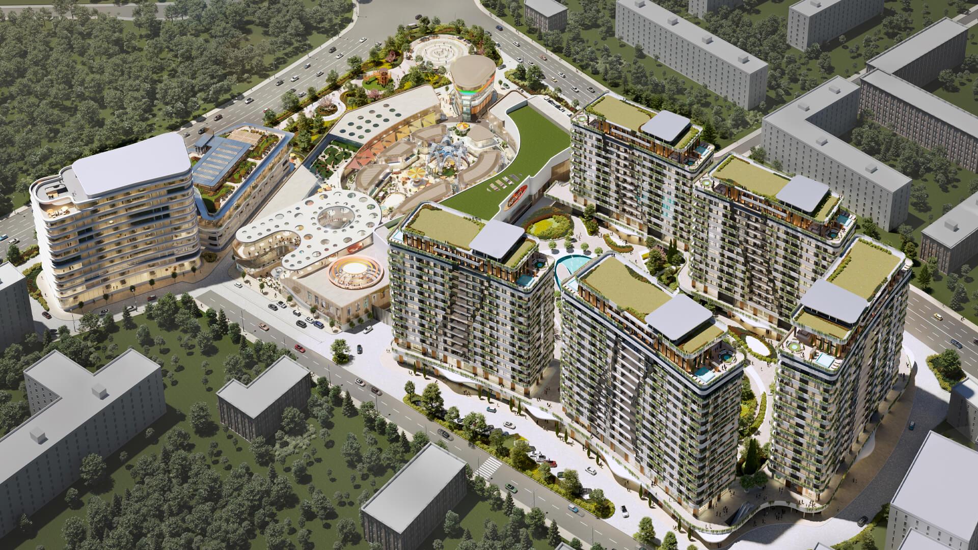 Жилой комплекс Infinity | Новостройки в Ташкенте