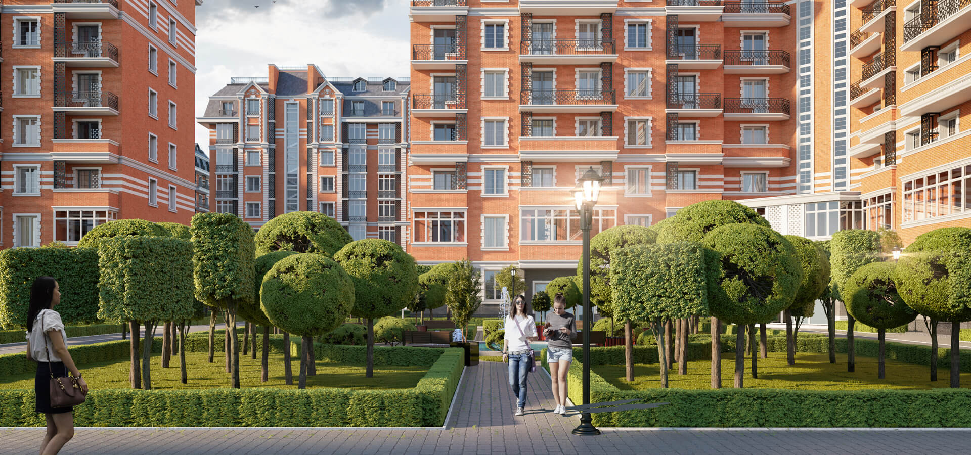 Жилой комплекс Greenwich | Новостройки в Ташкенте