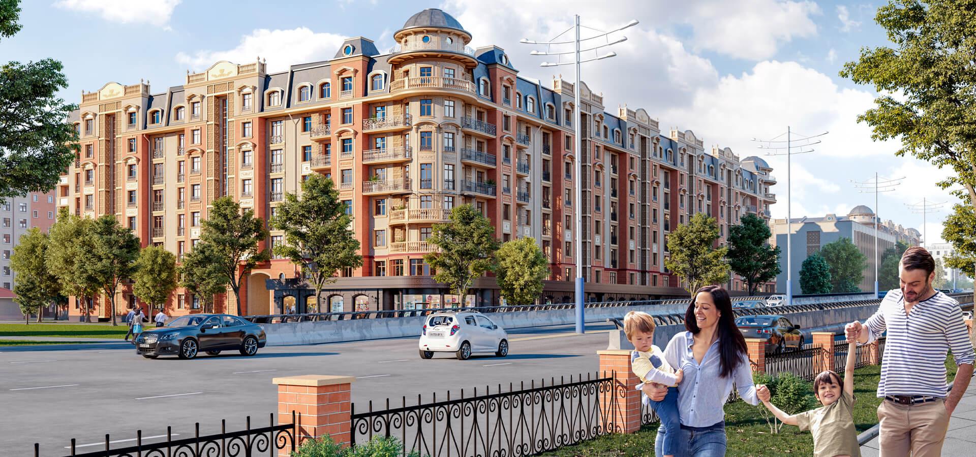 Жилой комплекс Paisien | Новостройки в Ташкенте
