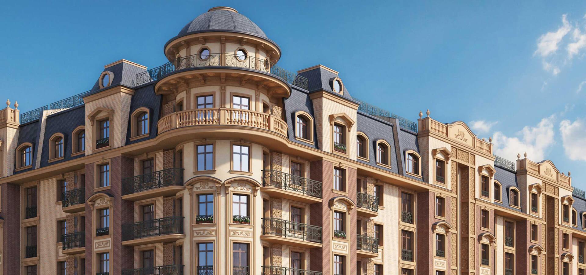 Жилой комплекс Parisien