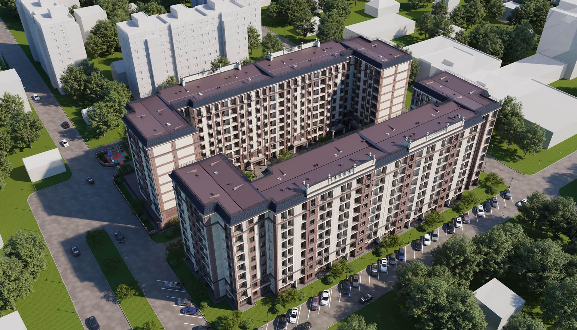 Жилой комплекс Sagbon | Новостройки в Ташкенте